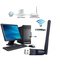 Wholesale Network Ralink RT5370 n g b Mbps Mini USB WiFi Wireless Adapter Network LAN Card w Antenna