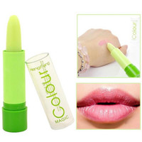 Wholesale New Hot Fashion Waterproof Long Lasting Magic Fruity Smell Changeable Color Lipstick Lip Cream Makeup