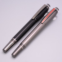 balls art styles - New Style Luxury Pen Star walker Black Grey Roller Ball Pen With Crystal Top Resin Cover School Office Stationery Brand Pens