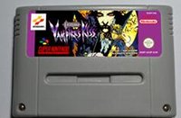 Wholesale SNES Game card Action Game Cartridge Castlevania Vampires kiss EUR Version English Language