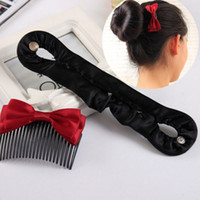 Nuevo Roller Magic Twist estilo Bun Maker cerraduras tece accesorios banda de pelo 1 Pcs mujeres niñas de pelo trenzado herramienta