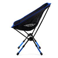 aluminium outdoor chairs - Newcomdigi Height adjustable Foldable Camp Chair Outdoor Beach Chair Fishing Chair Portable Aluminium Alloy Chair