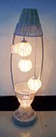 beige vase - Direct manufacturers of petal shaped rattan vase and lamp room bedroom light rattan lamp