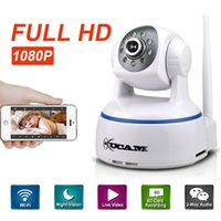Wholesale KUCAM P Wifi IP Camera MP P2P Onvif Night Vision Security Surveillance Baby Monitor CCTV Cam with Motion Detect IR Cut