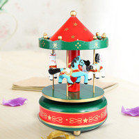 bamboo fabric manufacturer - Manufacturer grocery wedding birthday gift merry go round music box Music box