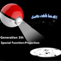 battery charger project - DHL Fedex Free Poke Ball Power Bank mah rd Generation Poke Go Cartoon Phone Charger External Battery With Led Light Project M232 B