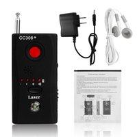 Wholesale Multi Function CC308 RF Signal Finder Full Range Wireless Camera Cell Phone Radio Detector Spy Bug Detector