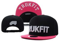 baseball hat collection - Hiphop Baseball Cap Collection Trukfit Snapback Sport Fitted Hat Skate Hats Snapbacks Snap Back Cap Mixed for Men Women Valentine Caps Cheap
