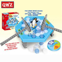 Wholesale Interactive Ice Breaking Table Penguin Trap Children Funny Game Penguin Trap Activate Entertainment Toy for Kids Family Fun Game