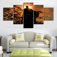batman movie pictures - Unframed Printed Batman Movie Poster Group Painting children s room decor print poster picture canvas Unframed