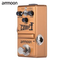 Wholesale ammoon Nano Series Compressor Guitar Effect Pedal True Bypass Aluminum Alloy Body Guitar Parts Accessories