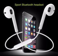 Wholesale Sports Outdoors Wholesale - High quality S6 wireless bluetooth earphone stereo cellphone headset outdoor sport running handfree for smart phone