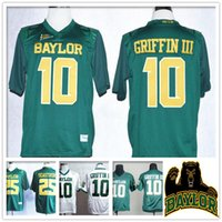 baylor logos - Stitched NCAA Baylor Bears College Robert Giffin III Lache Seastrunk Jersey Sport HOT Sale Cheap Retro Throwback With logo