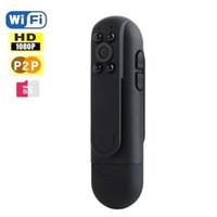 Visions dvr France-Wifi SPY Pen HD Caméra cachée DVR Vidéo IP P2P Enregistreur Caméscope Night Vision 1080P 720 HD sans fil pour iPhone Android PC