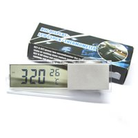 Wholesale 2 in Digital LCD Clock Thermometer with Suction Cup for Auto Car