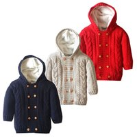 Wholesale Authentic new thickening in the fall and winter baby infant child jumpsuits with velvet cotton thread garment not ball do not fade changeles