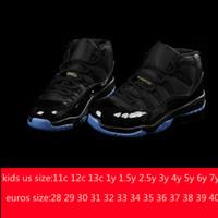 Wholesale Cheap Retro11 gamma blue Legend Blue Concord pantone Kids Basketball Shoes White Citrus Sports Trainers Children Shoes Boys Girls Sneakers