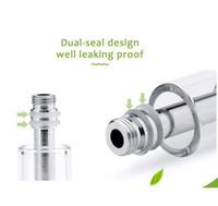 Wholesale High quality A3 pyrex Glass tank CBD oil Cartridge CE3 Tank BVC Dual Coil Atomizer BUD Touch O Pen Battery