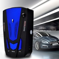 Wholesale V7 Car Auto Degree Car Anti Radar Detector Laser for Vehicle Speed Voice Alert Warning with Band LED Display Detector