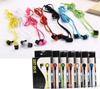 Wholesale NK In Ear Headset Stereo Earphone Universal Headphones candy colors Headset for iphone table pc Samsung Galaxy S7 note High Quality
