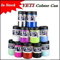 Stainless Steel beer in cans - In Stock colors oz YETI Cups Rambler Tumbler Colster Can Cars Beer Mug Large Capacity Mug Tumblerful ml Insulated Koozie cup