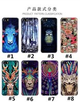 bear totem - For iphone plus case ultrathin Animal creature totem pattern cases TPU holy deer lions bear dogs cover for iphone s se s plus hot