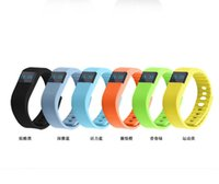 Wholesale TW64 Fitness Activity Tracker Bluetooth Flex Smart Watch Wristband Sport Smart Bracelet Pedometer For IOS Android System