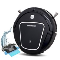 Wholesale Robot Vacuum Cleaner with Wet Dry Mopping Function Clean Robot Aspirator Time Schedule Seebest D730 MOMO Russia Warehouse