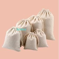 bead embroidery jewelry - The original manual Cotton Bag Drawstring Bags pocket jewelry bag
