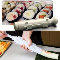 bamboo rolling mats - cheapest Christmas Sushi Roller Mould Kit Sushi Bazooka Rolls Made Easy DIY Bazooka Maker Mold Cooking Tools