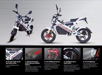 Wholesale 1500W EEC Folding Electric Motorcycle Adult Sports Scooter