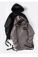 Wholesale Men s hoodie Fashion new pocket Hoodie Plain street Hooded hoodie Men casual cotton long sleeved hoodie