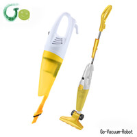 bagless upright cleaner - M upright Handheld vacuum cleaner portable home with Large capacity dust cup Extended dust suction tube Flexible ground brush