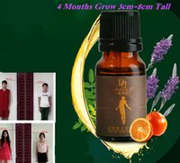 Wholesale Foot massage oils Heightening Body Grow Tall Essential Oil helps grow taller within months cm