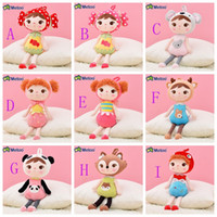 Wholesale Lovely Metoo Jibao Plush Doll Cute Plush Stuffed Toy Girls Nice Birthday Gift CM