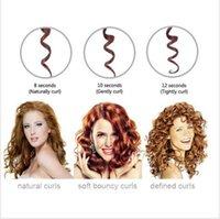 Auto Hair Curler Tourmaline en céramique Gant de cheveux Gant Roller Wave Tourmaline Perfect Curling Wand Tongs Curler Roller