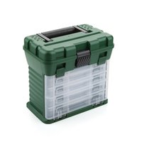Wholesale European and American professional fishing tackle Fishing Box precision parts storage home suitcase Drawer Box