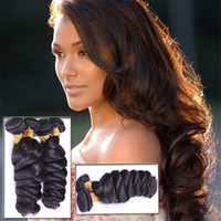 Wholesale Hot sell women Body Wave black Hair long curly hair Unprocessed Human Hair Weave Bundles