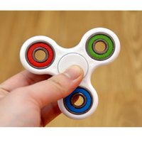 Wholesale HandSpinner Fingertips Spiral Fingers Gyro Torqbar Brass Pure Copper Toys Bearing Rotation Decompression Top Toys B