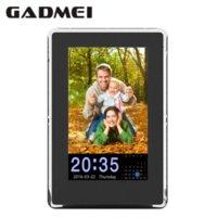 Wholesale New Fashion inch Vertical HD Digital Photo Frame with Clock amp Calendar function MP3 Light Sensor Gift Free Shipment