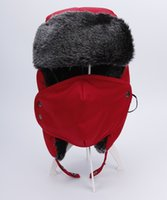 Wholesale The new Lei feng s hat classic To keep warm Add cotton upset Winter cotton hat Ear protection Men and women Add masks cap