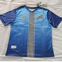 baja blue - 16 Baja Santos jersey Oliveira Santos Futebol Clube shirt blue jerseys top quality