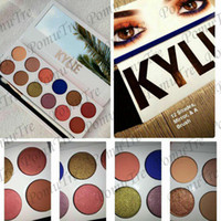 Wholesale factory resale Kylie The Royal Peach Palette color Kylie Jenners color Eyeshadow palette with pen Cosmetics The new color Eyeshadow