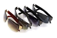 Nueva marca de fábrica de las gafas de sol de la manera de los hombres que conduce los vidrios de Sun de los deportes al aire libre Gafas de sol Oculos De Sol Masculino UV400