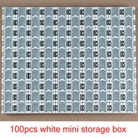 Wholesale New white High Quality SMD SMT Electronic Component Mini Storage Box Practical Jewelry Storaged Case