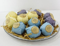 Wholesale explosion ball Aromatherapy bath salt ball Raw material of natural raw material with oil Efficacy of calm relaxed dispel the cold