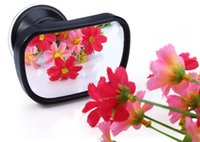 Wholesale T22614 Mini Rearview Mirror in Adjustable Car Baby Waterproof Rear View Safety Convex Mirror Degree Rotation
