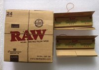 Wholesale RAW Rolling Papers Filter Paper papers Filters King Size mm NEWEST VIRGIN PAPER GOOD COMBINATION