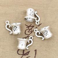 antique teacups - Cents Charms D teacup mm Antique Making pendant fit Vintage Tibetan Silver DIY bracelet necklace