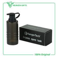 achat en gros de bouteilles compressibles gros-Vente en gros 100% authentique Kangertech Dripbox réservoir de rechange E-Cigarette bouteille étanche de qualité pour Kanger Dripbox Kits de Heaven Cadeaux